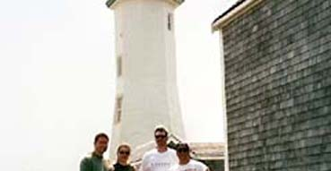 Lighthouse near Scituate.