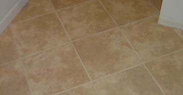 The completed floor tile