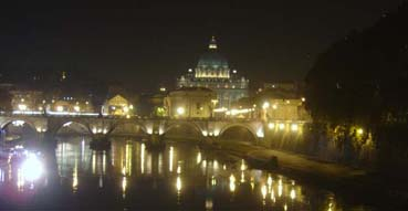 St. Peters and the river.