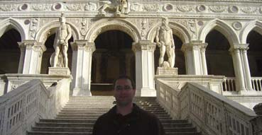 Eric at the Doge's Palace.