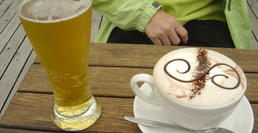 Beer and Hot Chocolate, Mmmm.