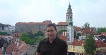 Yours truly in Cesky Krumlov.