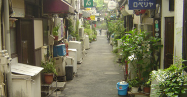 Streets of the Golden Gai.