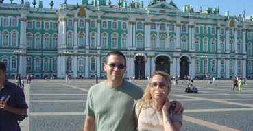After our conquest of the Hermitage.